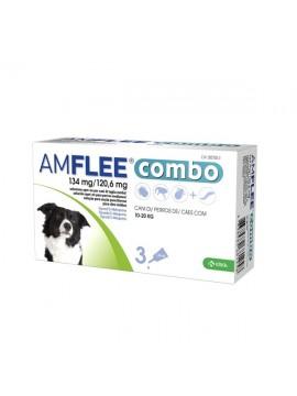 AMFLEE COMBO 134 MG 3 PIPETAS (CAO 10-20 KG) - 038150