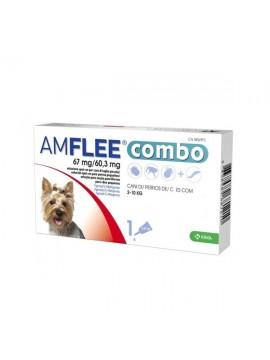 AMFLEE COMBO 67 MG 3 PIPETAS (CAO 2-10 KG) - 038149
