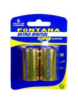 FONTANA PILHA C BLISTER 2 UNID - 021185
