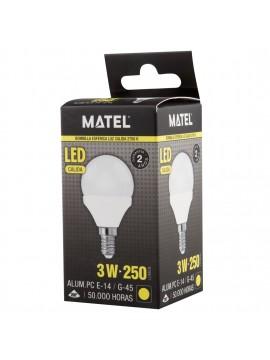 LAMPADA LED ESFERA E14 #3 - 096009